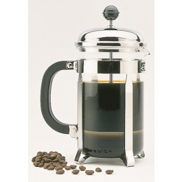 Chrome Cafetieres Cafetiere 35cl Chrome, 3 cup