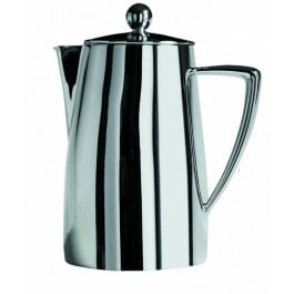 Art Deco Cafetiere 8 cup, 1 litre, Stainless Steel