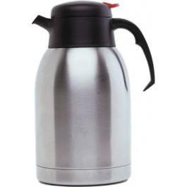 Genware Vacuum Pot 1.2 litres Stainless steel