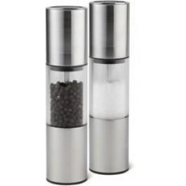 Oslo Salt 18.5cm Acrylic, Stainless steel DISCON