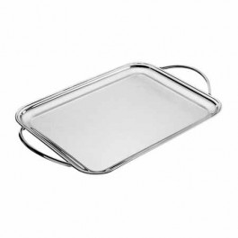 Pinti Tray 60 x 47cm 18/10 Stainless Steel,Rectangular with Handles