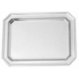 Elegant Tray 25 x 20cm Stainless Steel