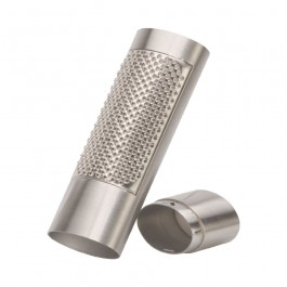 Oval Nutmeg Grater + Nut Comparment 15.5 x 5 x 3cm