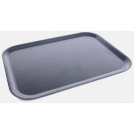 Tray 51 x 38cm Black, Non Slip