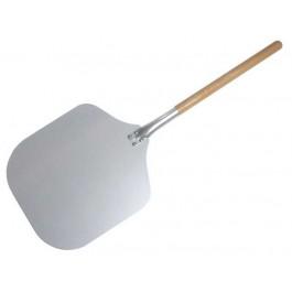 Pizza Peel 94cm Aluminium, with wooden handle, 35x30.5cm blade