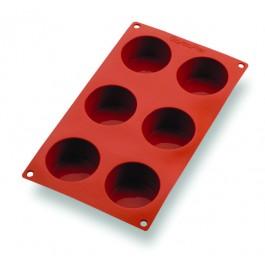 Muffin tray Gastroflex flexible non-stick 6 muffins 7 x 3.8cm
