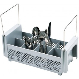 Cutlery Basket With Handles, 8 compartment