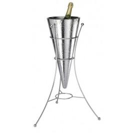 DTCBAR - Wine cooler & Stand Hammer finish