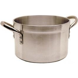 Sauce pot / Stew pan with lid 49 Litres Medium Duty Aluminium, 45cm