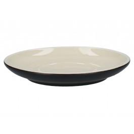La Cafetiere Barcelona Black Espresso Saucer Ceramic 12cm