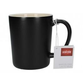 La Cafetiere Barcelona Black Latte Mug Ceramic 40cl