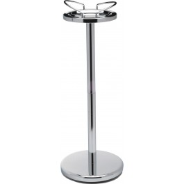 Wine Cooler Stand Chrome Pillar 68cm