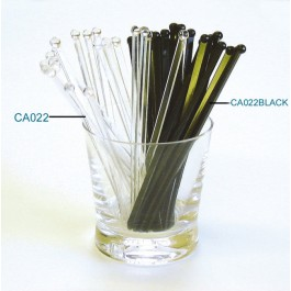 Drink Stirrer Black flatball Pack of 1000