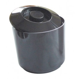 Ice Bucket Round Black 4 Litre