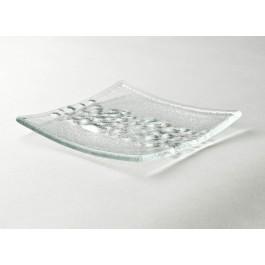 Bubble Square Plate 12.7cm