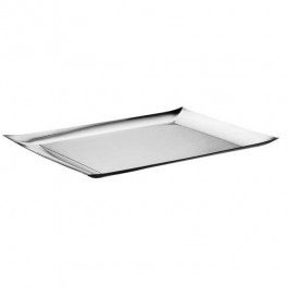 Linea Q Tray Oblong 43 x 28cm 18/10 Stainless Steel