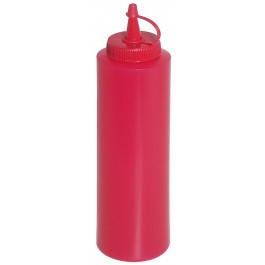 Sauce Bottle 0.35 Litres Red