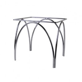 Chrome Plated Arched Stand 31.5 x 25 x 30cm