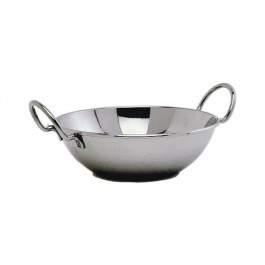 Balti Dish with handles 15cm Stainless Steel