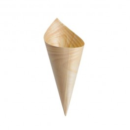 Bamboo Disposable Cone (Pack of 50) 5 x 15cm