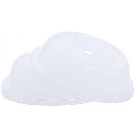 Plate Cover Translucent Polypropylene Dishwasher Safe. Microwave Safe. 22 x 6cm (Dia x H)