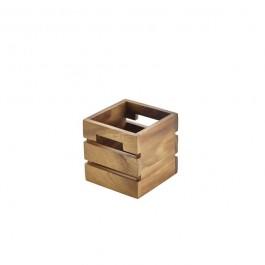 Acacia Wood Box/Riser 12 x 12 x 12cm