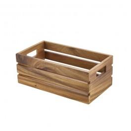 Acacia Wood Box/Riser 32.5 x 18 x 12.3cm