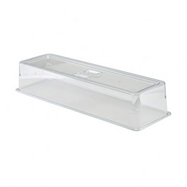 Polycarbonate Handed Tray Cover GN 2/4