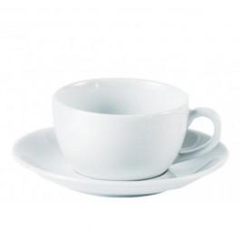 Porcelite Standard Grande/Latte/Conical Saucer 15cm