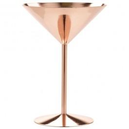 Copper Martini Glass 17 x 12cm (H x Dia) 24cl
