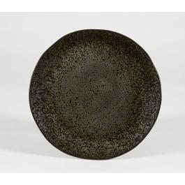 Rustico Black Ironstone Presentation Plate 32cm