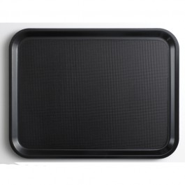 Cambro Capri Laminated Smooth Surface Tray Round Black 32cm