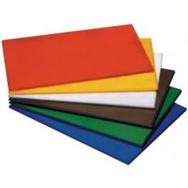"Chopping board white high density 61 x 46 x 2.2cm/24"" x 18"" x 1"""