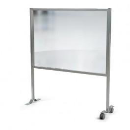 Social Distanc Separator Screen White 146x93.3x160cm 19119B