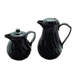 Connoisserve Tea Pot Black 1 Litre