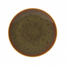 Steelite Art Glaze Caramel Coupe Plate 34cm