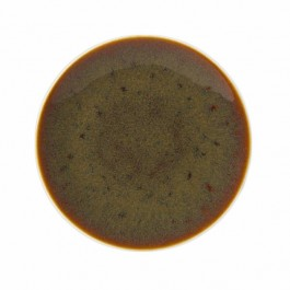 Steelite Art Glaze Caramel Coupe Plate 30cm