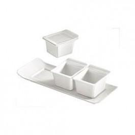 Vendome Platter 22.1 x 8.6cm (Bowls sold separately)