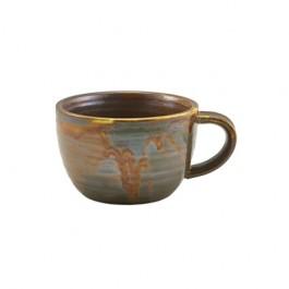 Terra Porcelain Rustic Copper Coffee Cup 28.5cl