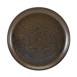 Terra Porcelain Black Coupe Plate 30.5cm