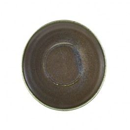 Terra Porcelain Black Coffee Saucer 14.5cm