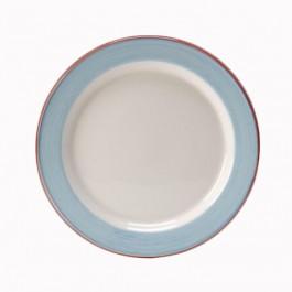 Rio Blue Plate Slimline 20.25cm