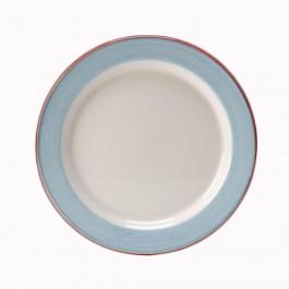 Rio Blue Plate Slimline 27cm