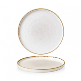 Churchill Stonecast Barley White Walled Plate 26cm