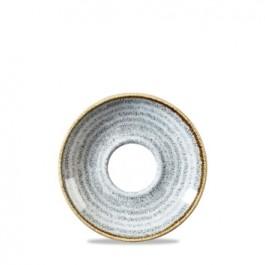 Churchill Studio Prints Stone Grey Cappuccino Saucer 15.6cm