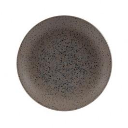 Churchill Menu Shades Caldera Flint Grey Coupe Plate 21.3cm