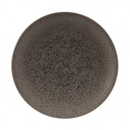 Churchill Menu Shades Caldera Flint Grey Coupe Plate 26.6cm