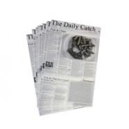 Presentation Daily Catch Greaseproof Paper (Pack of 500) 25.5 x 40.5cm