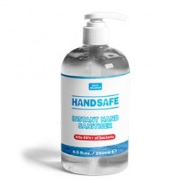Anti-Bacterial Instant Hand Sanitizer 250ml (Alcohol content: 62%)  (Trade Pack of 12)