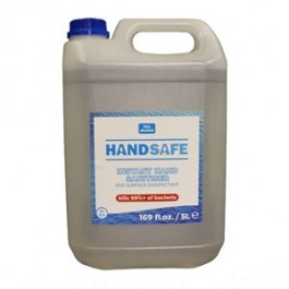Anti-Bacterial Hand Sanit Liquid Re-fill bottle 5 Litre 70%